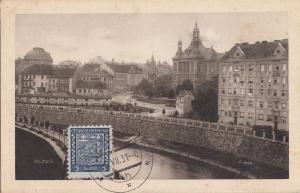 B78566  pilsen plzen  czech republic  scan front/back image