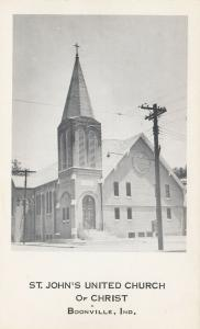 BOONVILLE, Indiana, 1940-60s; St. John's United Church of Christ