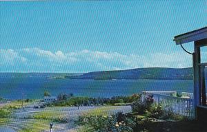 Canada Bras d'Or Lakes Cabot Trail Baddeck Cape Breton Nova Scotia