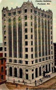 Maine Portland Fidelity Building 1916