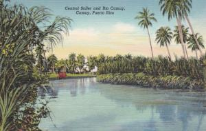 CAMUY , Puerto Rico, 30-40s ; Central Soller & Rio Camuy