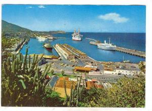 Aerial View, Sea Port La Guaira, Venezuela, 50-70s