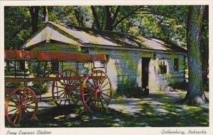 Nebraska Gothenburg Pony Express Station