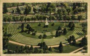 U. S. National Cemetry - Gettysburg, Pennsylvania