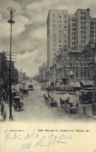 Marietta St. Atlanta GA 1910