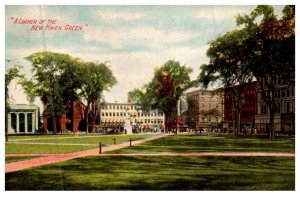 Connecticut New Haven ,  A corner of the   Green . The Frank S.Platt Co.