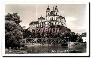 Old Postcard Melk Donau Benediklinerstift
