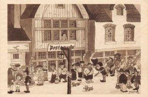 LP67  Chicago World's Fair Picturesque Belgium Postcard Print Shop