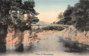View of Matsushima, Japan, Early Hand Colored Postcard, Unused
