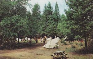 Lavallee Tent & Trailer Park Camp Area , Ontario, Canada , 50-60s