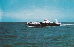 Oregon Inlet Ferry , Hatteras Island , North Carolina , 50-60s