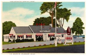 Maine  Searsport , Kobs Lobster Pound