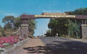 Canadian Gateway to The Thousand Islands, Gananoque,  Ontario,  Canada,  40-60s