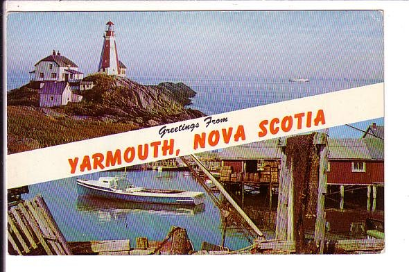 Greetings from, Yarmouth, Nova Scotia, Canada
