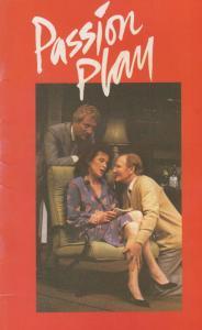 Passion Play Barry Foster Van Der Valk Comedy Wyndhams Theatre Programme