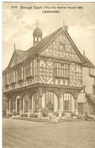 Grange Court, Leominster, early 1900s unused Postcard