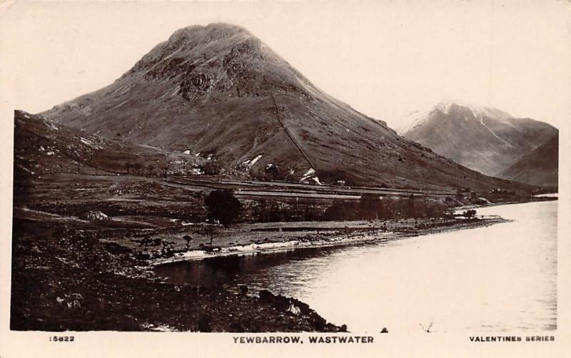 Yewbarrow Wastwater Valentine's Series (English Lake District) 1910