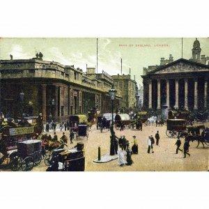 Postcard 'Bank of England, London'