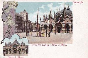 VENEZIA, Veneto, Italy, 1901-1907; Chiesa S. Marco, Torre Dell' Orologio