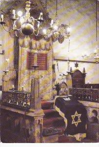 Czechoslovakia Prague Old-New Synagogue Interior