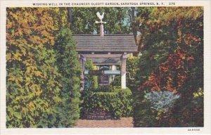 Wishing Well In The Chauncey Olcott Garden Saratoga Springs New York