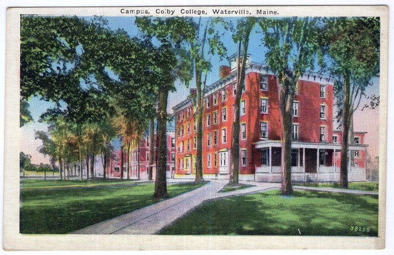 Waterville, Maine, Campus, Colby College