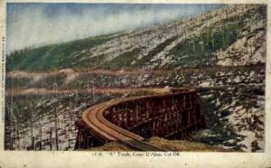 S. Trestle Coeur D'Alene IN 1909