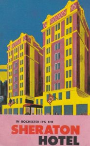 ROCHESTER , New York , 1960 ; Sheraton Hotel