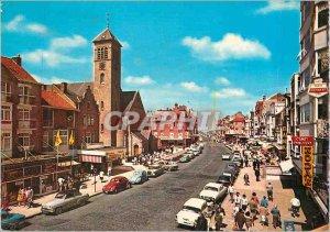 Postcard Modern Panne Avenue de la Mer