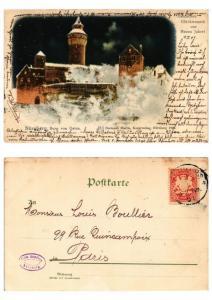 CPA AK GERMANY NÜRNBERG Burg von Osten (572147)