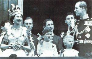 Nostalgia Postcard June 1953 The Coronation of Queen Elizabeth II Repro Card NS7