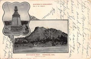 Trinidad Colorado Simpsons Rest Multiview Antique Postcard K83264
