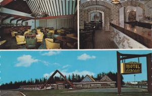 Motel l'escale , VAL D'OR , Quebec , Canada , 40-60s