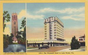 Walesbilt Hotel, Singing Mountain Lake Sanctuary, LAKE WALES, Florida, 30-40's