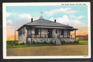 Oklahoma, Fort Sill, Old Guard House, unused