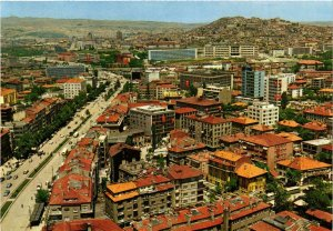 CPM AK Ankara - From Kizilay Toward the Castle TURKEY (850305)