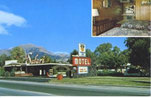 Nephi UT Utah ~ Friendship Inn Safari Motel ~ Postcard