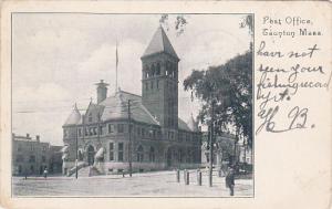 Post Office, Tauton, Massachusetts, PU-1905