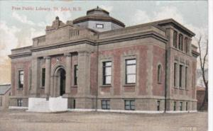 Canada New Brunswick St John Free Public Library