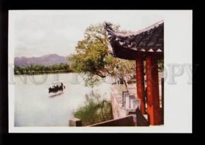 075486 CHINA Sihu in spring Suti dam Old PC