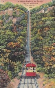 Tennessee Chattanooga Steep Grade Of The Incline Lookout Mountain