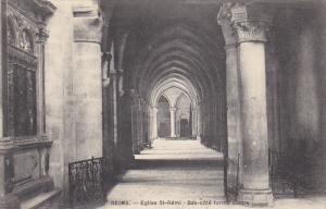 France Reims Eglise Saint-Remi Bas-cote forme cloitre