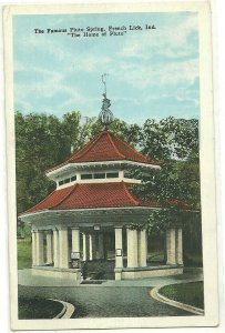 FRENCH LICK, Indiana, PU-1921; The Famous Pluto Spring, The Home of Pluto