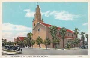 PHOENIX , Arizona , 1910s ; First presbyterian Church
