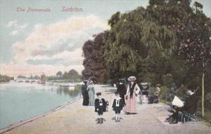 The Promenade, SURBITON (London), England, UK, 1900-1910s