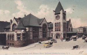 New York Syracuse New York Central & Hudson River Railroad Station 1906
