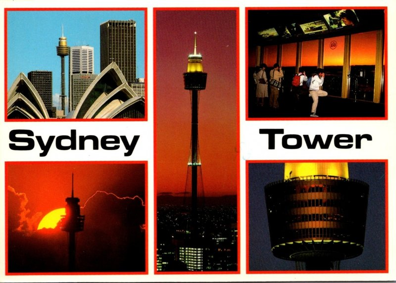 Australia Sydney Multiple Views Of The Sydney Tower 1988