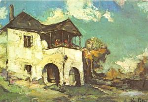 B19335 Art Painting Romania Gheorghe Petrascu