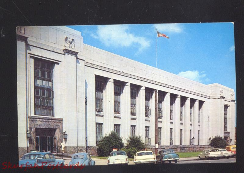 KNOXVILLE TENNESSEE U S  POST OFFICE COURT HOUSE OLD CARS