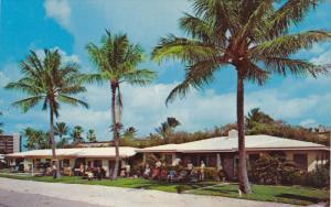 The Agnew Apartments, Palm Trees, Pompano Beach, Florida, United States, 40's...